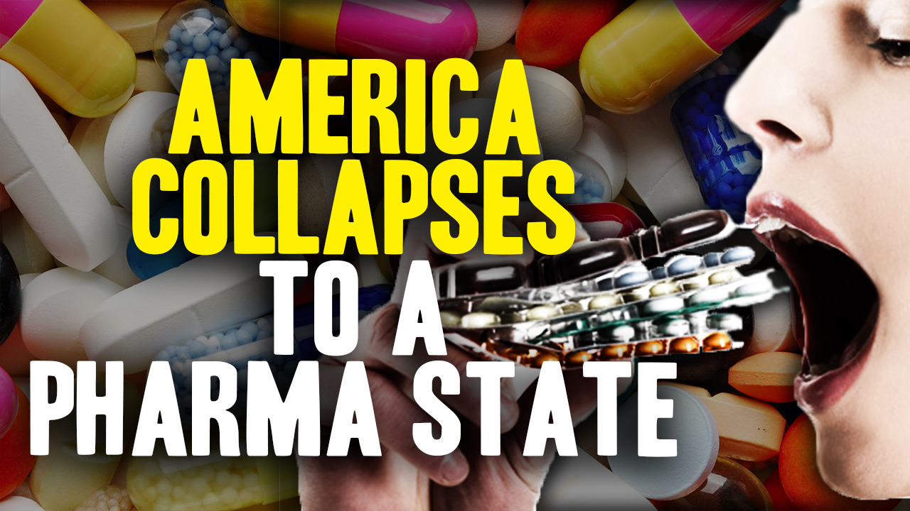 "The USA is collapsing into a ""pharma state"" warns Big Pharma skeptic"